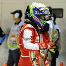 Felipe Massa saldrá sexto en Singapur