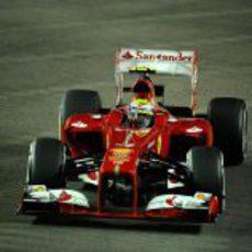 Felipe Massa recuperó el ritmo en la Q3