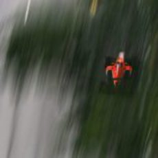 Max Chilton acelera a fondo en la recta