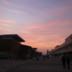 El atardecer en Yeongam