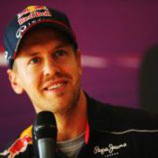 Rueda de prensa de Sebastian Vettel