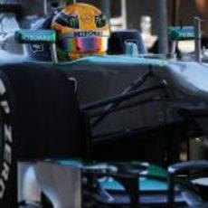 Lewis Hamilton, referencia en los libres