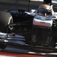 Williams probó un nuevo alerón delantero en los libres