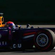 Sebastian Vettel rodando en Corea