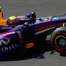 Neumático duro para Mark Webber