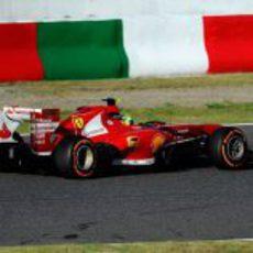 Quinta plaza para Felipe Massa