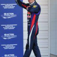 Pole para Mark Webber en Japón