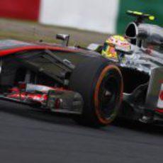 Sergio Pérez cayó en Q2