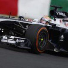 Pastor Maldonado acabó contento la clasificación