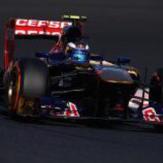 Daniel Ricciardo exprime los duros en Suzuka