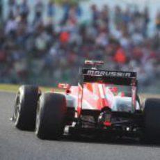 Max Chilton logra clasificar por delante de los Caterham