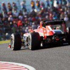 Jules Bianchi marcó el peor tiempo en la Q1