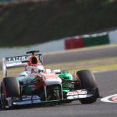 Paul di Resta cayó en la Q2