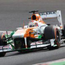 Paul di Resta disputa la clasificación en Japón