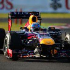 Sebastian Vettel salió tercero y ganó en Japón