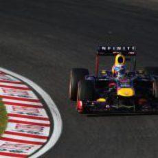 Curva para Sebastian Vettel