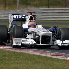 Kubica en el GP de Hungría