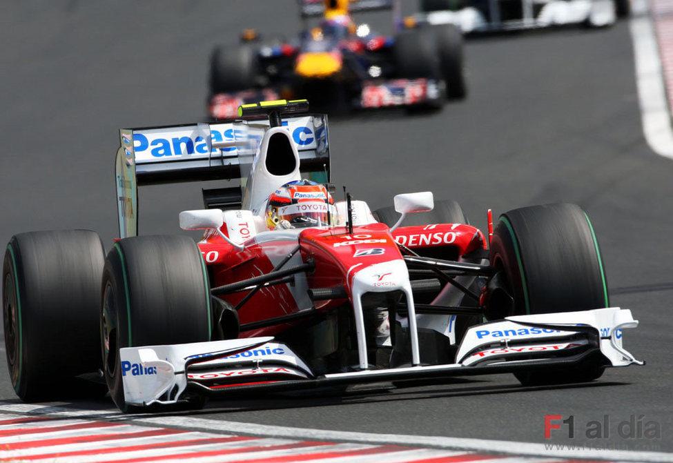 Glock en el GP de Hungría