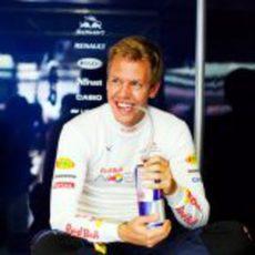 Vettel con ganas en Valencia
