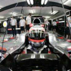 Kovalainen en su McLaren