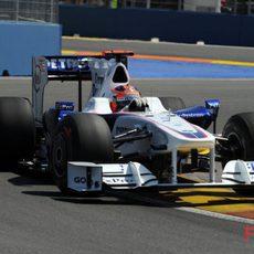 Kubica entra en la Q3