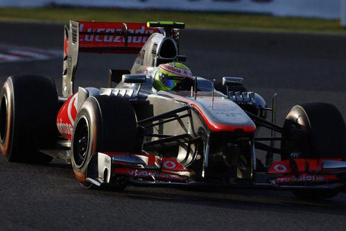 Carrera complicada para Sergio Pérez