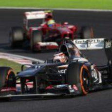 Nico Hülkenberg terminó sexto en Japón