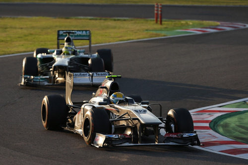 Esteban Gutiérrez puntuó en Japón