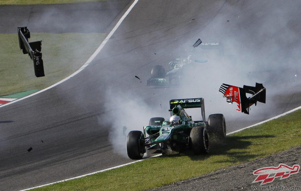 Giedo van der Garde se queda fuera del GP de Japón