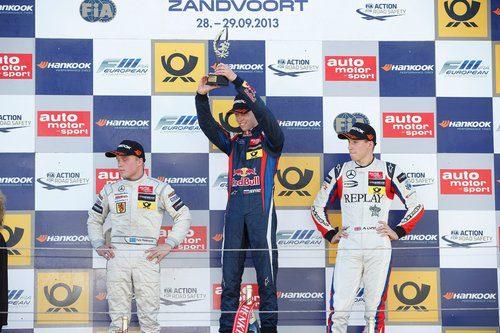En lo más alto del podio de la GP3