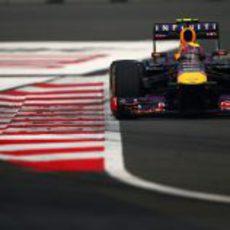 Mark Webber consiguió ser segundo en las dos sesiones de libres del viernes
