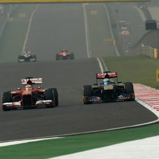 Fernando Alonso se empareja con Jean-Eric Vergne