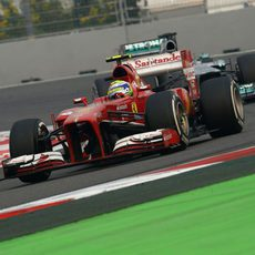 Felipe Massa completa su tanda con el compuesto medio