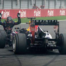 Sebastian Vettel se rinde ante el RB9