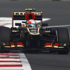 Romain Grosjean protagonizó una gran remontada