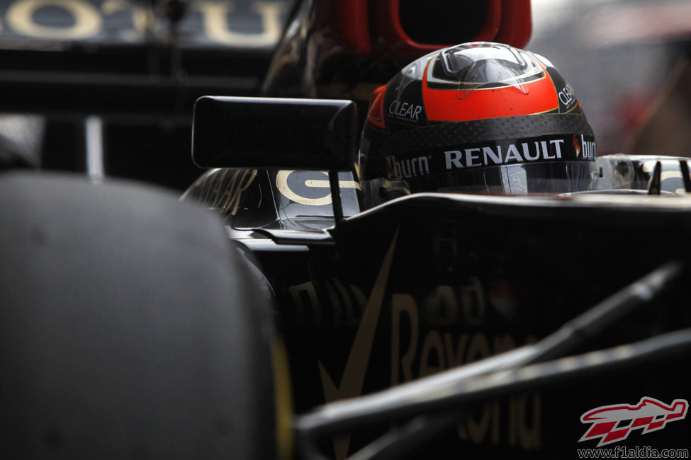 Plano de Kimi Räikkönen en el E21