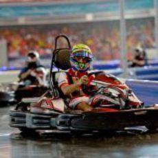 Karting de Felipe Massa