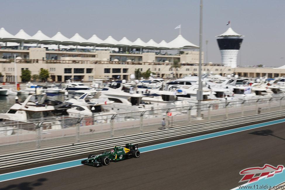 Heikki Kovalainen vuelve a un monoplaza de F1