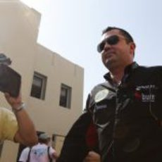 Eric Boullier levanta expectación en Abu Dabu