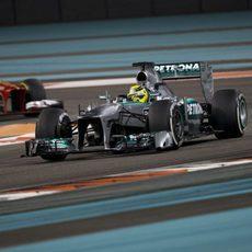 Tanda con el medio para Nico Rosberg