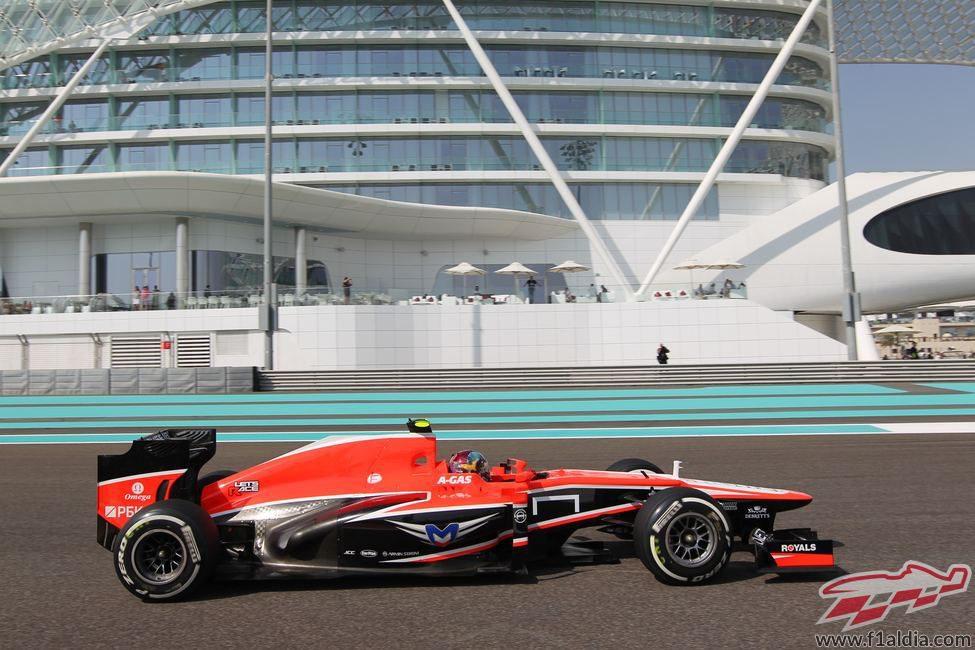 Nueva oportunidad para Rodolfo González en Marussia
