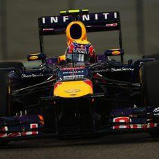 Mark Webber avanza en la Q3