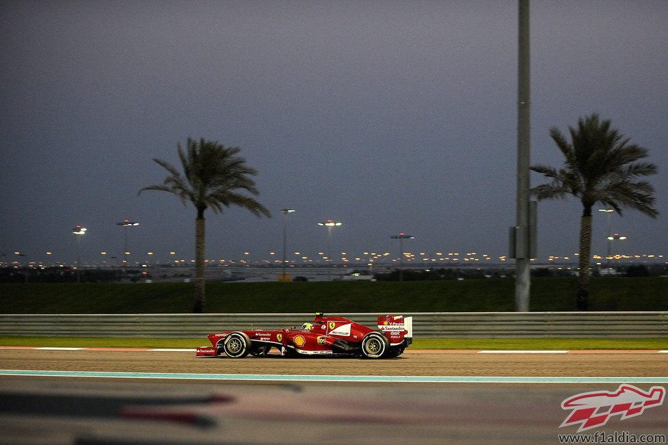 Felipe Massa terminó octavo en Abu Dabi
