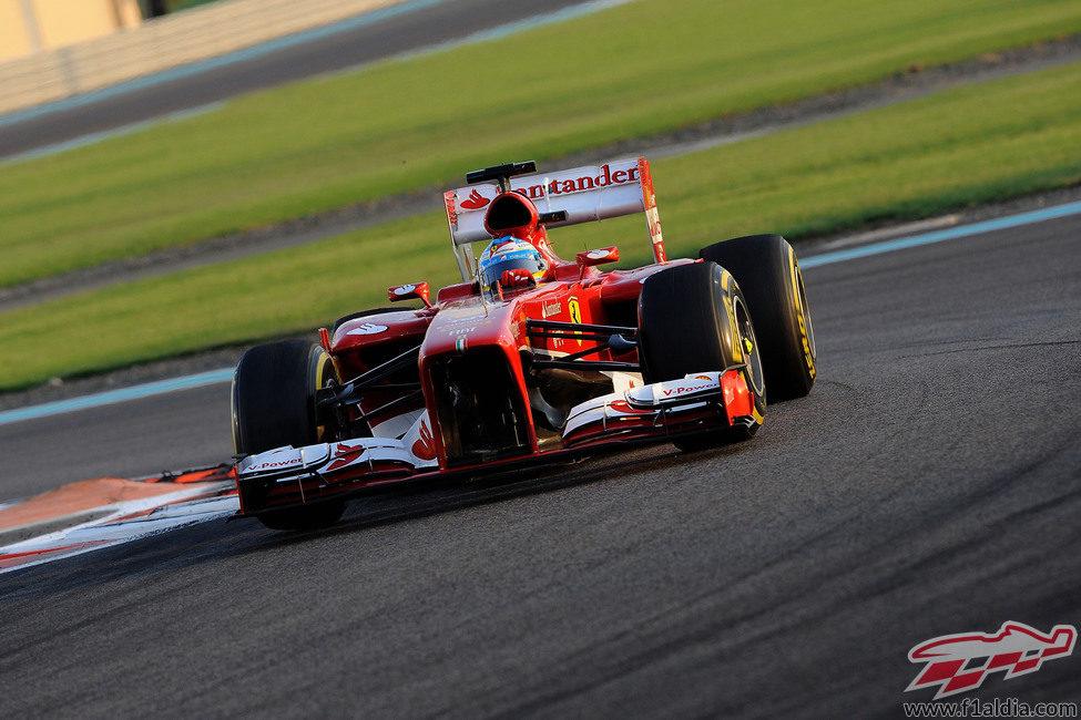Fernando Alonso llegó hasta la quinta posición
