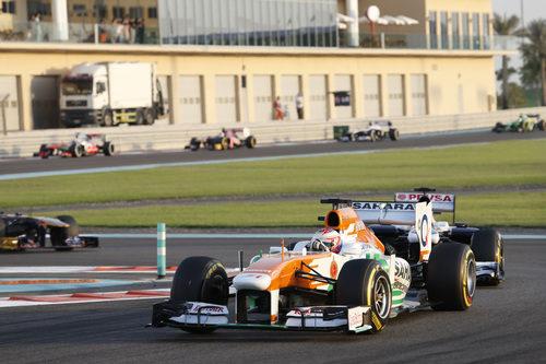 Paul di Resta firmó al sexta posición