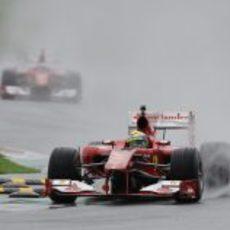 Felipe Massa rueda en Mugello en su despedida