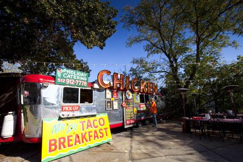 Tacos a la venta en Austin