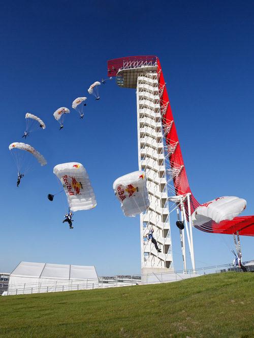 La torre del Circuito de las Américas, bien aprovechada