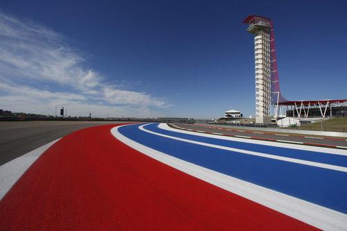 Circuito de las Américas con su esplendorosa torres