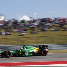 Alexander Rossi avanza en el Circuito de las Américas